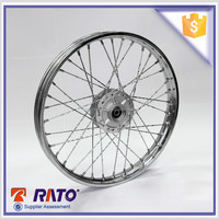 17 inch hot sale motorcycle front spoke wheel for FT180