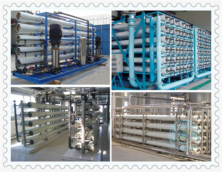 30T per hour industry waste water treatment system osmosis