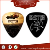 Global Music Instrument Accessories Custom Guitar Picks Plectrum with single printing