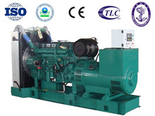CE/ISO9001 approved 500kva/400kw electric motor generator powered by volvo TAD1641GE diesel genset