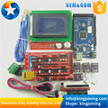 KJ113 1pcs Mega 2560 R3 + 1pcs RAMPS 1.4 Controller + 5pcs A4988 Stepper Driver Module +1pcs 12864 controller for 3D Printer kit