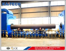 QGN inner wall sand blasting machine for cleaning steel pipes