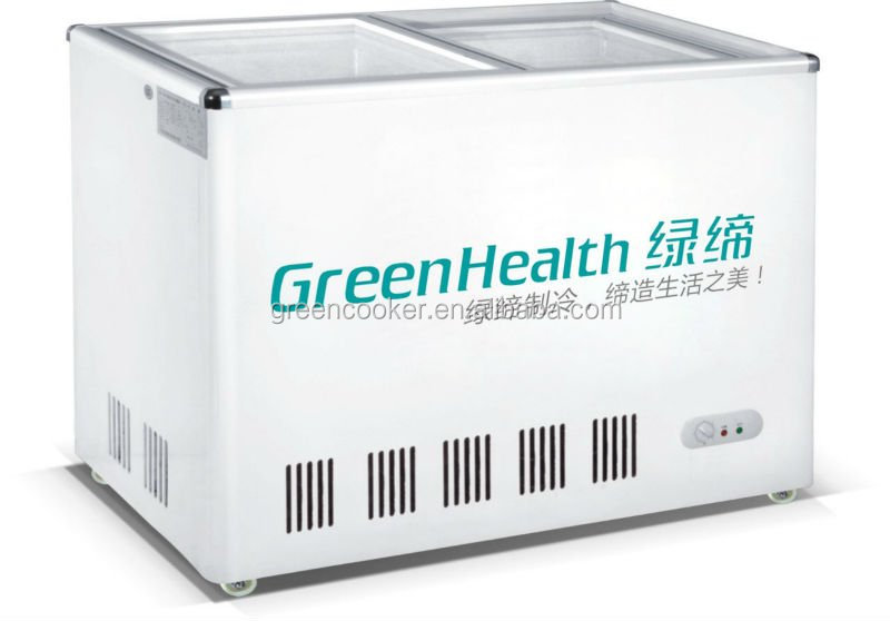China manufacturer refrigeration equipment/Grocery mobile refrigerator ,display fridge chest freezer with CE/ROHS