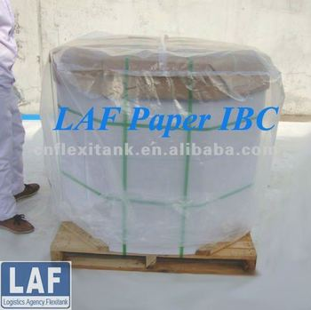 1000liter Disposable Cardboard IBC for milk transport