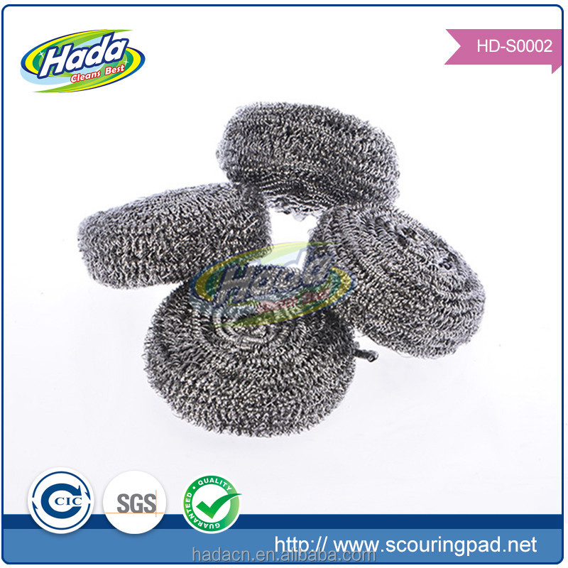 stainless steel cleaning ball, galvanised wire scourers