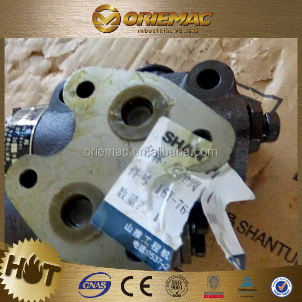 Spare parts of Shantui main relief valve 16Y-76-802