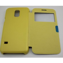 Window Flip Cover Battery housing View Case for samsung Galaxy S5 mini