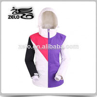 Winter fashion colorful extreme outdoor jacket
