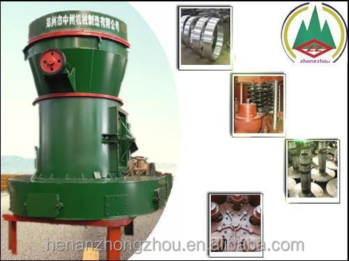 High Efficiency powder making super fine dolomite raymond mill 4R95