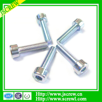 DIN912 Hex socket head cap screw M4 Color Zinc screw bolt
