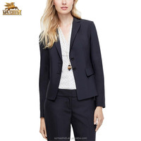 custom ladies formal suits design fancy pant suits for women office wears