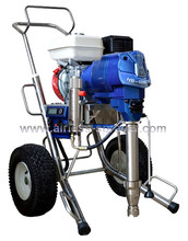 5L flow petrol airless paint sprayer putty spray machine with long pump