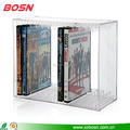 Elegant style customized CD display stand holder for retail store