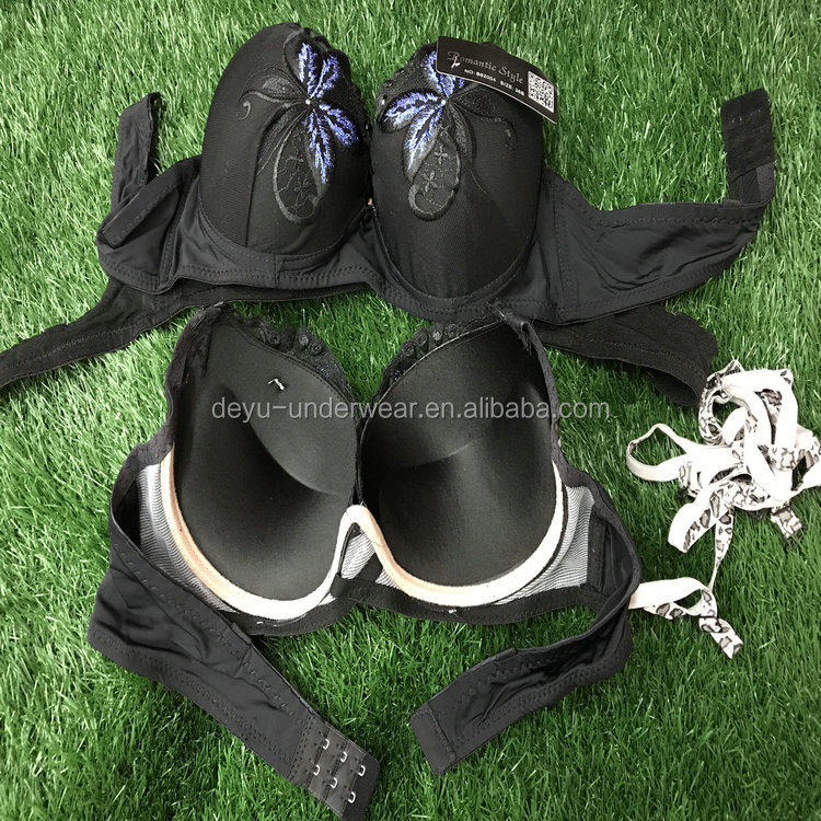 0.4USD Factory Lots Stock Ready Women Sexy Mixing Fllowers And Size Sexy Lingerie Underwear/Bra (kczk060)