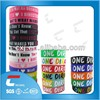 shape and appearance design your own silicone wristbands