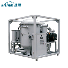 LUSHUN large area three-dimensional flash distillationTwo-stage High Efficient Vacuum Oil Filter machine /transformer oil(ZJA )