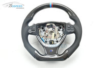 Modified Carbon fiber racing steering wheel For BMW 5 Series E60 (Wrapped/Cover Carbon)