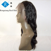 Cheap wholesale factory price 100% human hair peruvian full lace wig