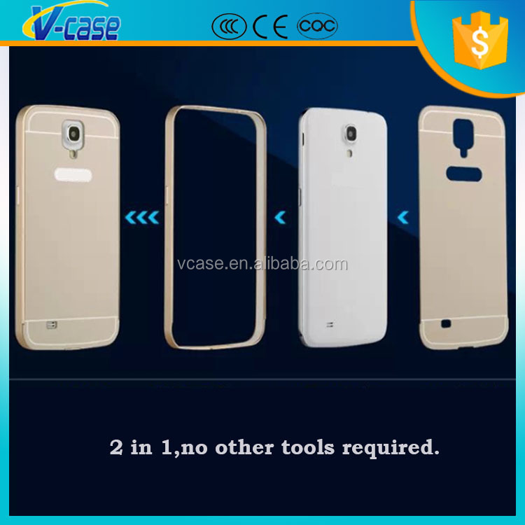 Aluminum Full Cover Metal Bumper Frame Case for Samsung Galaxy N9000 note 3