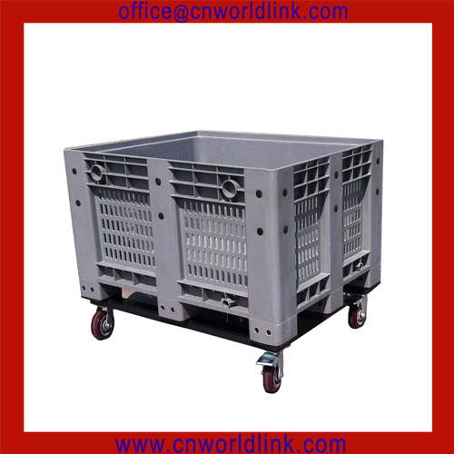 HIGH-QUALITY foldable crate grain loading container