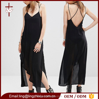 China supplier clothing women western casual summer daily wear dress