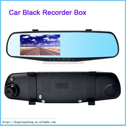 Dush Car Camera 138W Dual Lens Switched LCD HD 4.3inch TFT 120 Degree Rear View Car Black Box DVR