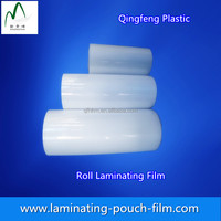 Hot PET/EVA Plastic Laminating Roll Film Supplied by Factory