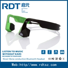 Latest noise canceling wireless stereo bluetooth bone conduction headphone for outdoor sports