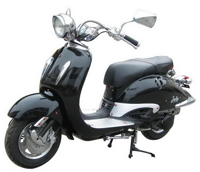 Wholesale suitable price powerful adult gas vespa 150cc scooters