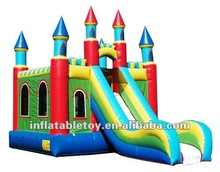 inflatable combo/inflatable jumping bouncer with slide