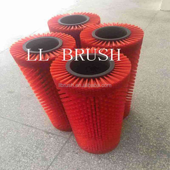 2017 hot selling chinese red nylon brush roller