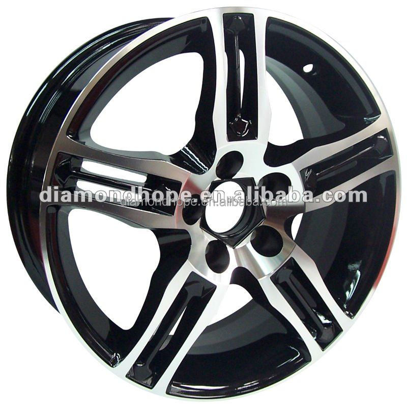 2014 Aluminum bright black rims red line for car(ZW-E340)