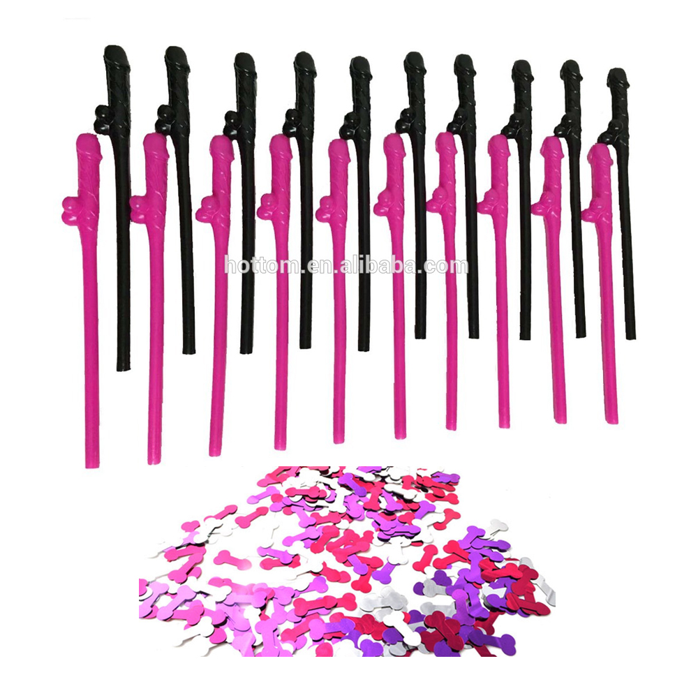 2017 New Arrival China Factory Price Cheap Bachelorette Party Willy Straw 10pack 20pack 30pack 50pack etc
