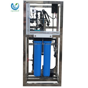 commercial 800GPD ro small fully automatic mineral water plant reverse osmosis system with pump