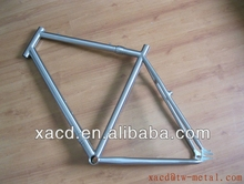 Top-rated titanium fixed gear bike frame Customized Titanium Track bike frame with S&S coupler XACD titanium track bicycle frame