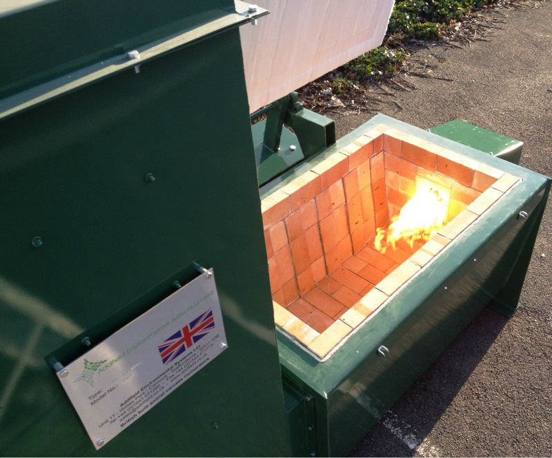 Addfield animal carcass incinerator - Mini AB