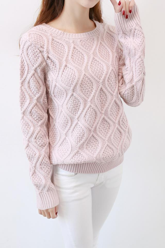 custom western quality classic vintage ladies cable acrylic sweater