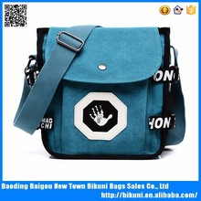 China Wholesale Waxed Canvas Shoulder bag Messenger bag