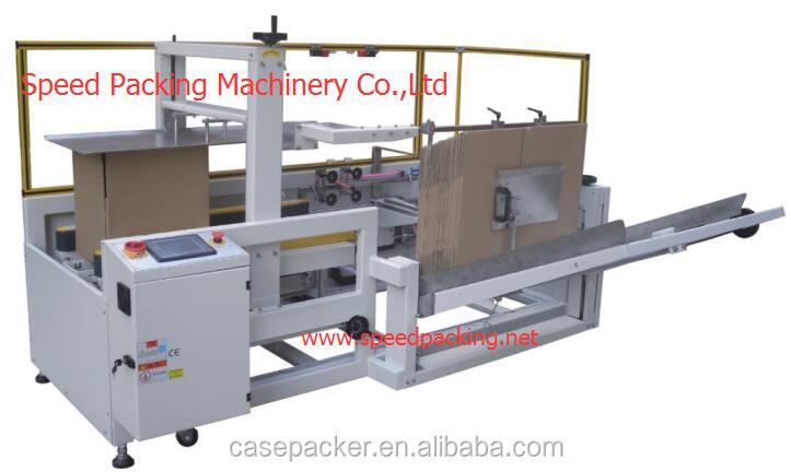 Automatic case erector / case packer / carton box packing machine