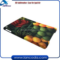 good rate 3D sublimation phone cover for ipad Air/ipad 5,3d sublimation laptop cover,sublimation tablet case