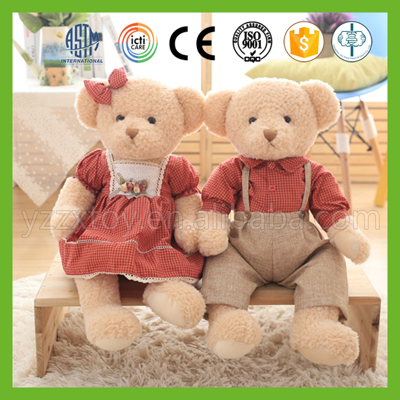 China factory direct sale high quality wholesale plush teddy bears for valentines day