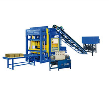 ZCJKQTY4-25 Hollow Block Making Machine Type and Brick Production Line Processing automatic vibropress