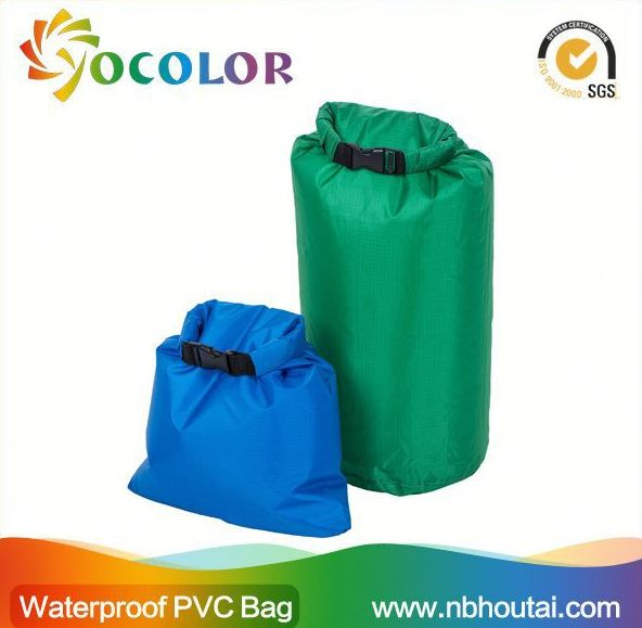 hot sale 500D PVC tarpaulin inflatable 500d Tarpaulin Ocean Pack Dry Bags With Shoulder Strap for boating