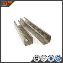 Light gauge galvanized steel coil profile c channel pre-galvanized slotted strut channel
