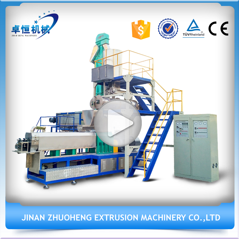 Farm used pet and floating fish feed extruder