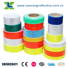 LX202 wholesale ENISO20471 25 wash cycle 3m reflective tape for clothing