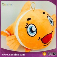 Wholesale High Quality Lovely Stuffed Plush Fish Toy