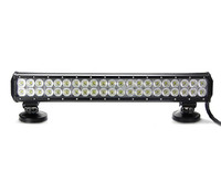 car LED light bar, 126W 20 ''stainless steel bar,used ATVs, SUV, truck, Fork lift, trains, boat, bus, and tank