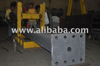 Steel Column for sign frame