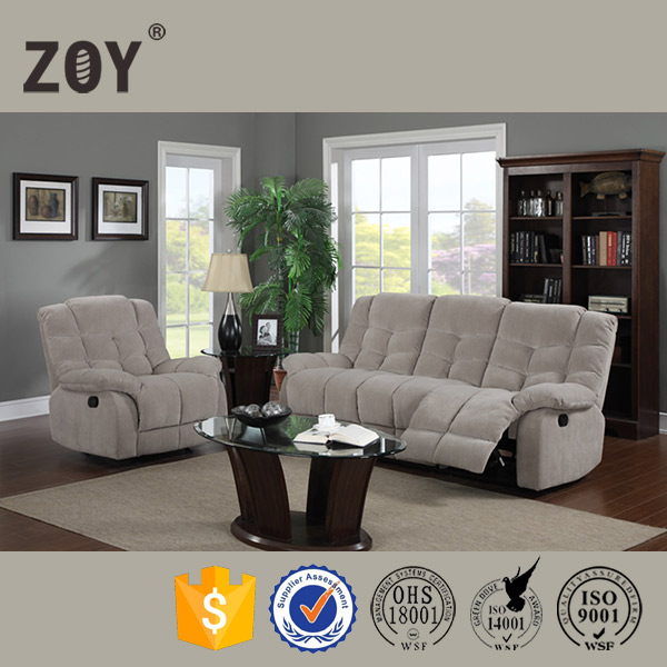 Mental Mechanism Recliner South American Hot selling No.1 Sofa Furniture ZOY -R9752A